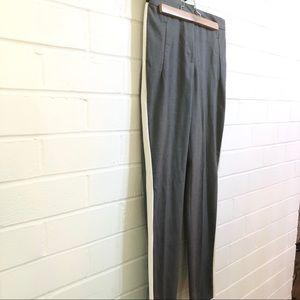 Zara Cropped Pants with Stripe